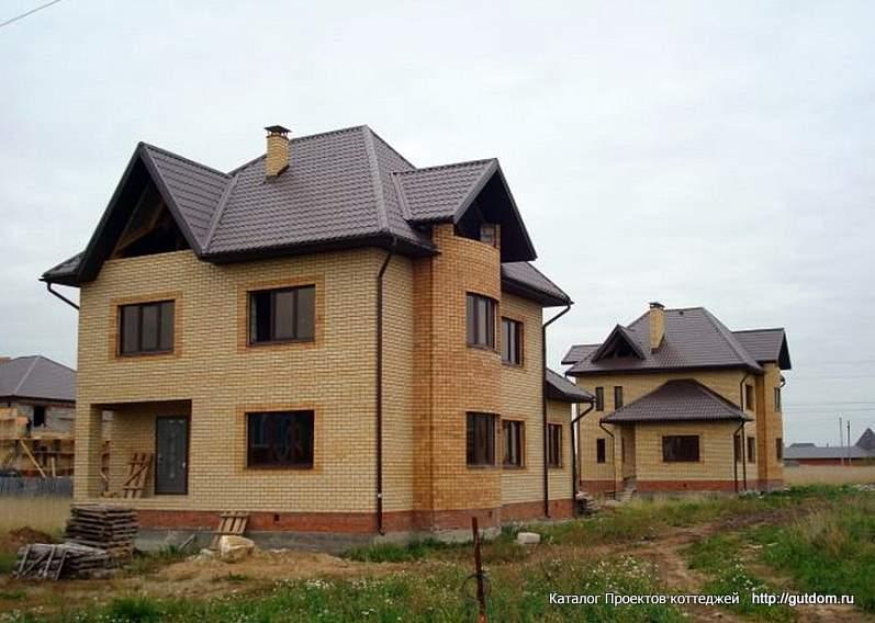 фото 7, строительство двухэтажного дома с мансардой по Проекту ГБ26 из газоблоков