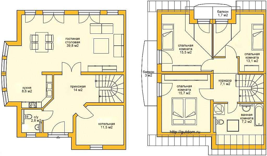 Как сделать дом на две семьи 747