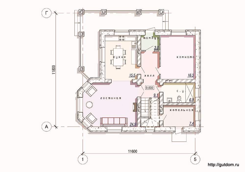чертежи домов в майнкрафт