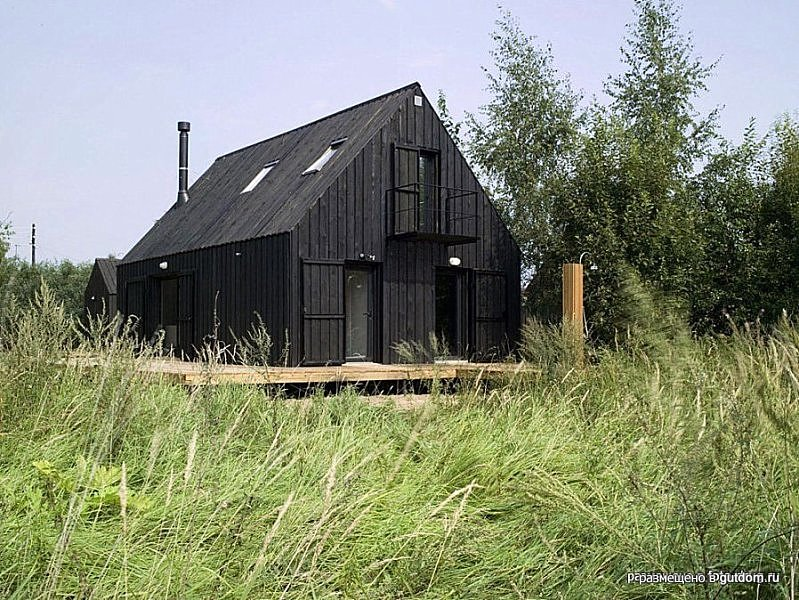 Каркасный дом 90 м2 - дача в верховье Волги