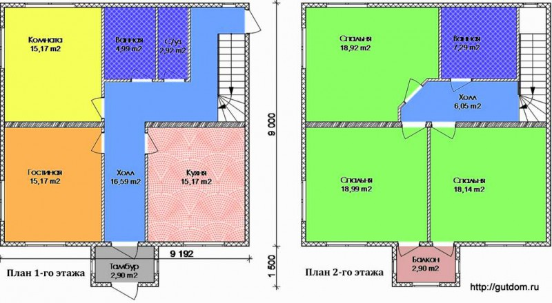 Проект Э117 Дом Коттедж Дача Общая площадь 152,69 м2