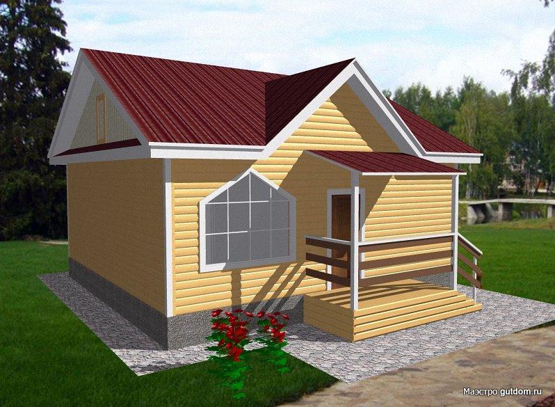 дом из Экопана