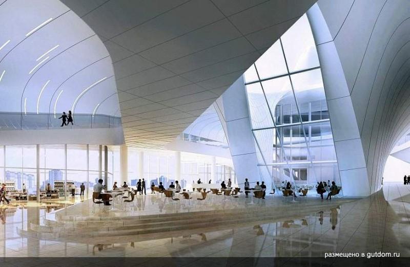 Яркий Культурный Центр Гейдара Алиева по проекту Захи Хадид