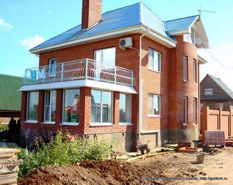 строительство дома с пристроем