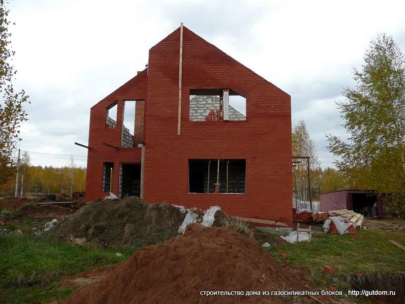 строительство двухэтажного коттеджа