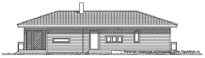 фасад дома двухэтажного