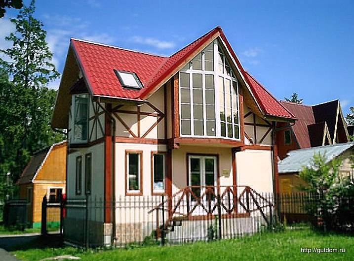 небольшой каркасный дом