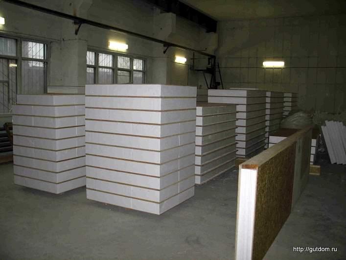 Производство СИП панелей