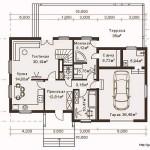 Проект двухэтажного дома СИП 138 площадью 302 м2