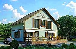 Проект СИП 137 дом двухэтажный ум