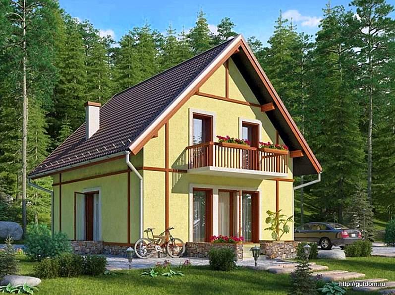Проект панельного дома