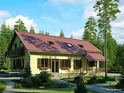 Проект двухэтажного дома СИП 138 ум
