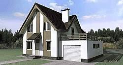Проект дома СИП 69 ум