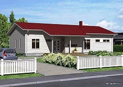 Проект одноэтажного дома СИП 72 ум