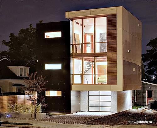 дом трехэтажный