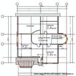Проект СИП 85 дом двухэтажный с подвалом площадью 316,5 м2