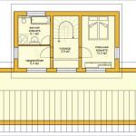 Проект ГБ39 двухэтажного дома из газоблоков площадью 109,3 м2