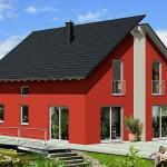 Проект ГБ40 двухэтажного дома из газоблоков площадью 131 м2