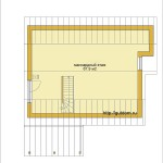 Ytong Проект бунгало из газобетона ГБ56 площадью 94,4 м2