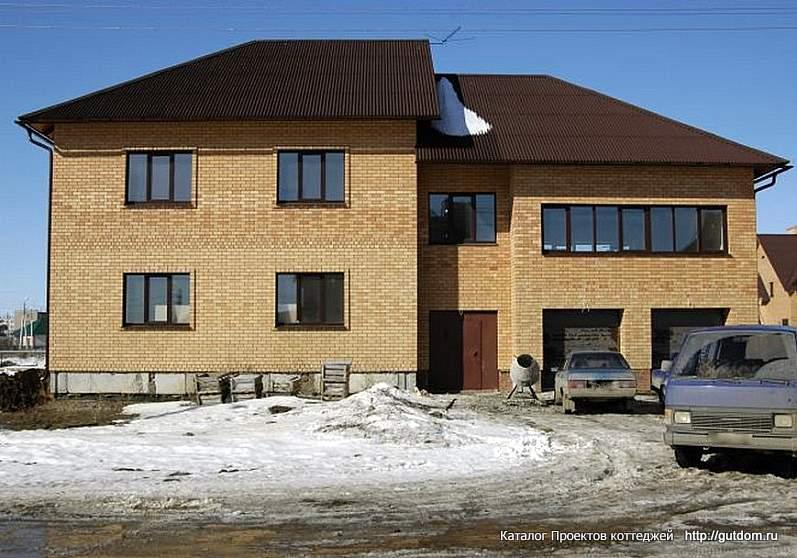 фото 3, двухэтажный дом по Проекту ГБ33