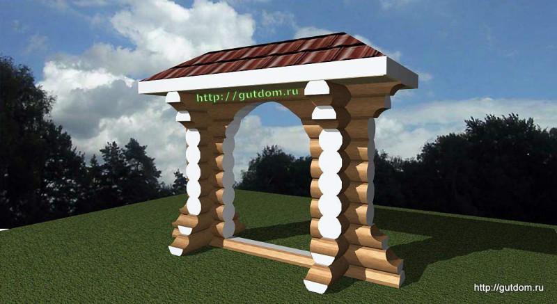 Проект декоративной арки 1