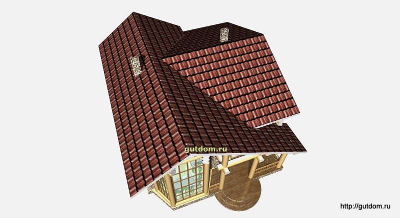 Проект двухэтажного дома площадью 154 м2 Вика7 эскиз 6