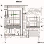 Проект двухэтажного дома с подвалом и мансардой 358 м2 Влад1