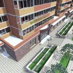 Рабочий Проект высотного жилого дома 9, 11, 13 этажей Петр1
