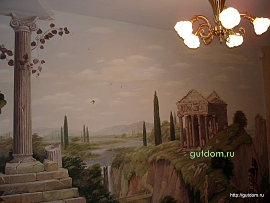 Роспись стен и потолков в Нижнем Новгороде и области