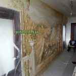Барельефы, барельефные панно с росписью в Нижнем Новгороде