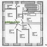 Проект одноэтажного дома с мансардой и подвалом 349 м2 Ладо7