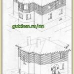 Проект двухэтажного комбинированного дома площадью 217 м2 Ладо6