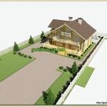 Заказать Проект дома из бревна бруса газоблоков на сайте