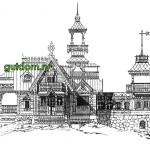 Ретро Проекты домов дач особняков 1 сборник
