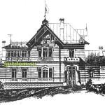 Ретро Проекты домов дач вилл 6 сборник, Архитектура История