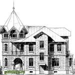 Проекты домов дач 10 сборник, История архитектуры в эскизах
