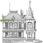 Ретро Проекты домов вилл дач гостиниц, 4 сборник