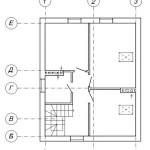 Проект одноэтажного дома с мансардой из кирпича 121 м2 Бонд3