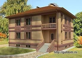 Проект двухэтажного дома с подвалом 204 м2 Бонд8, 275