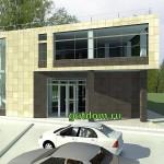 Проект небольшого торгово - офисного здания Нижний Новгород