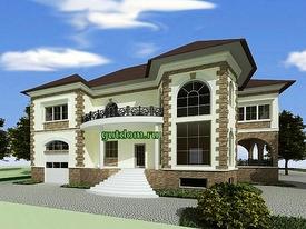 купить проект дома Ладо3 - 355 м2