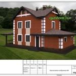 проект дома 172 м2 из сип панелей