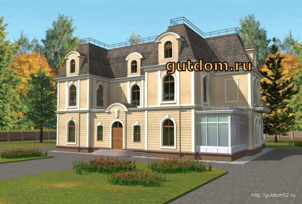 проект дома усадьбы