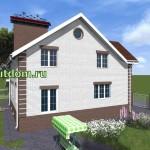 Проект дома площадью 236 кв.м Зл15