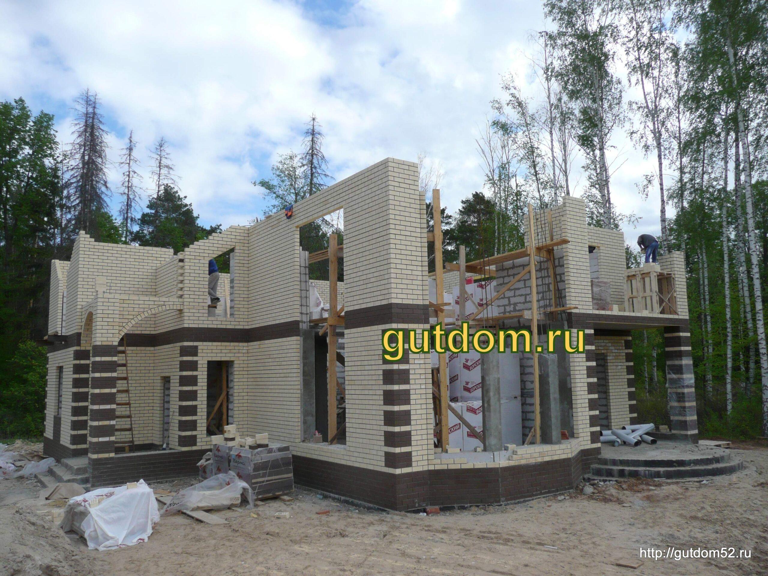 Строительство домов под ключ в Нижнем Новгороде фото