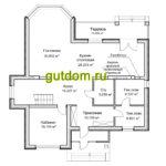 Проект дома площадью 238 м2  ГаП3