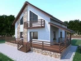 проект дома 200 м2