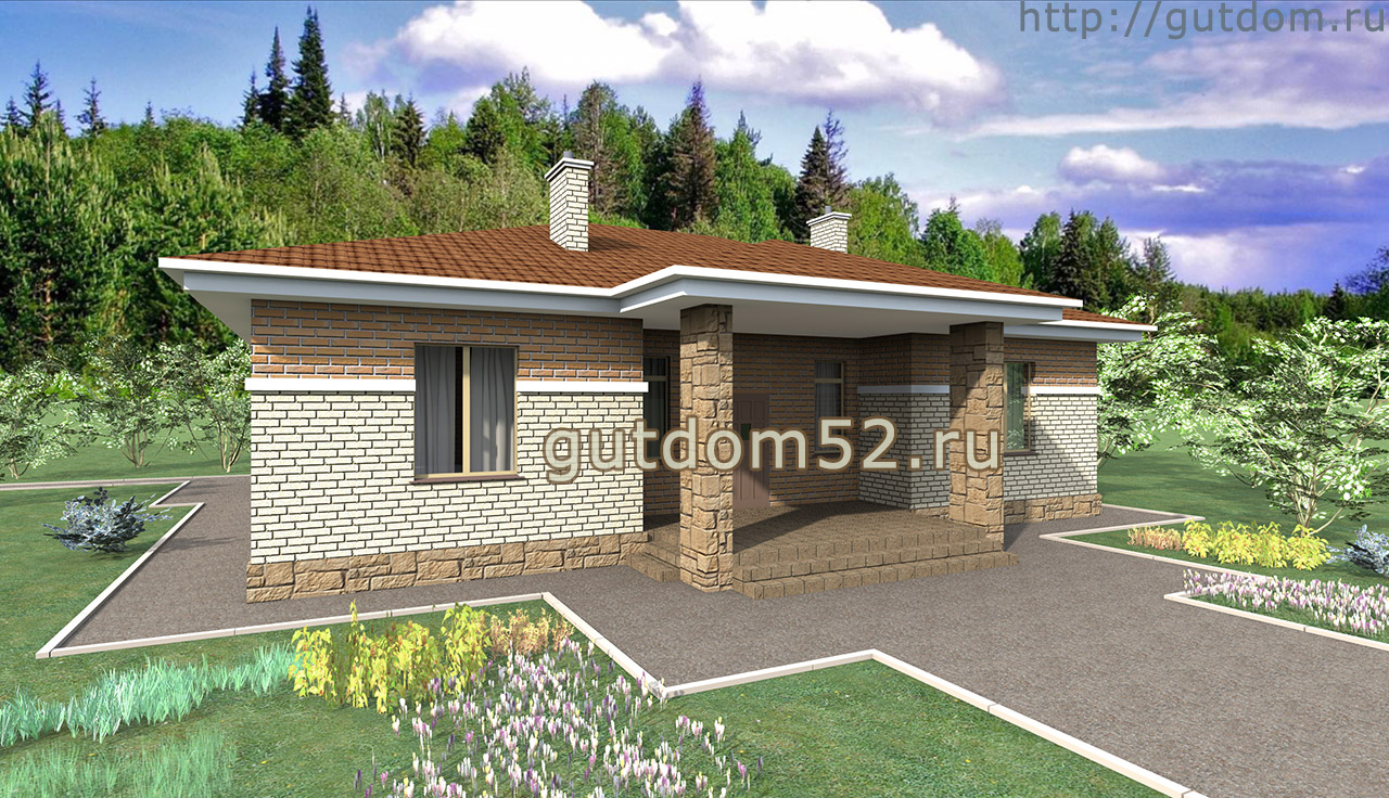 Проект дома 135 м2  ГаП11