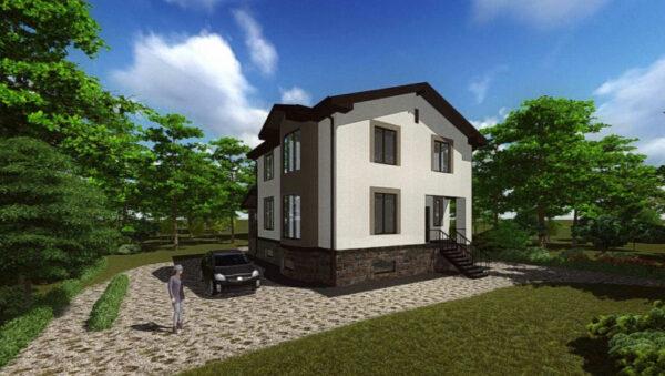 проект дома с подвалом
