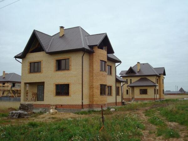 Готовый проект дома (174 м2) с подвалом (86 м2) Ка-46